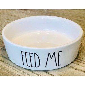 "Rae Dunn ""Feed Me"" Kitty Cat Dish - NWOT"
